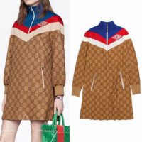 GUCCI Long Sleeve Bodycon Dress