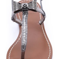 Bryn Pave Bow Flat Sandals