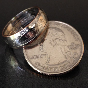 Connecticut, State Quarter Coin Rings
