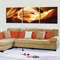 Stretched Canvas Print Abstract Landscape Set of 3 1301-0174 - USD $ 51.99