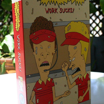 VHS Beavis and Butthead Work Sucks!