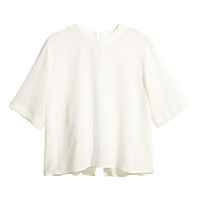 Blouse - White - Ladies
