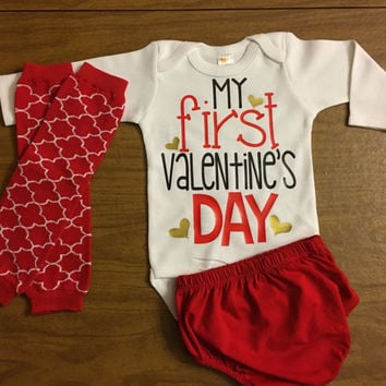 First Valentines Day Boys Outfit, Newborn Boy Valentine Outfit, 1st Valentine Day Boys Outfit , My first Valentines Day outfit, Baby Shower,