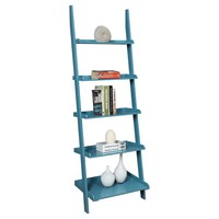 French Country Ladder Bookshelf (5 Shelf) : Target