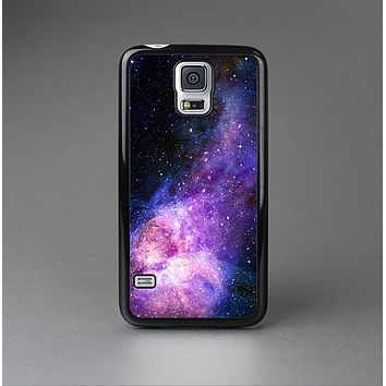 The Vibrant Purple and Blue Nebula Skin-Sert Case for the Samsung Galaxy S5