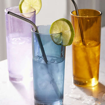 Tinted Highball Glass - Set of 4 | Urban Outfitters