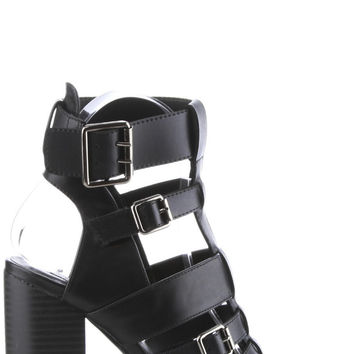 Gianna Booties - Black