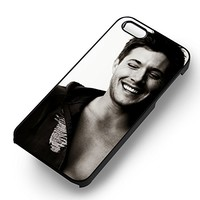 Jensen Ackles Supernatural for Iphone 6 and Iphone 6s Case (Black Rubber Case)