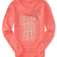 PS from Aero  Kids' Activate Dance Hi-Lo Sweatshirt