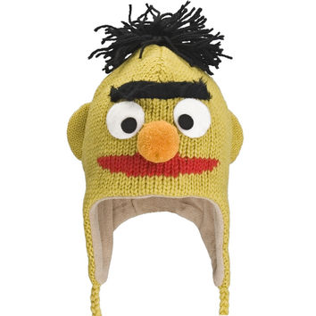 Sesame Street - Bert Head Kids Peruvian Knit Hat
