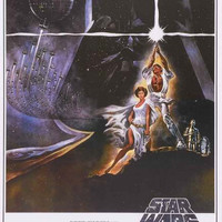 Star Wars A New Hope Poster 24x36