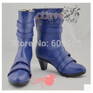 Free shipping! Sailor Uranus Shoes From Sailor Moon Cosplay Christmas Shoes Customized For You
