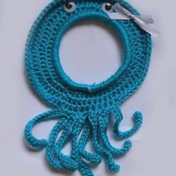 Crochet Octopus Lens Buddy Hood Cover Photographer Gift - PFLH18