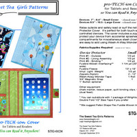 Reader Pattern, Tablet Pattern, Pro-TECH-ion Cover for Readers & Tablets