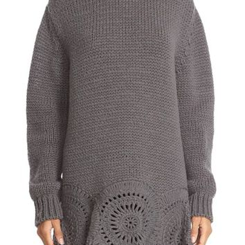 Stella McCartney Crochet Circle Knit Sweater | Nordstrom