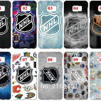 NHL Hockey Team Case For Samsung Galaxy G360 A5 A7 2018 Version S9 Plus S5 S6 S7 Edge Note 3 4 5 E5 Phone Cover Coque Fundas