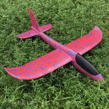Throwing Flying Aircraft Air Plane Glider Toys