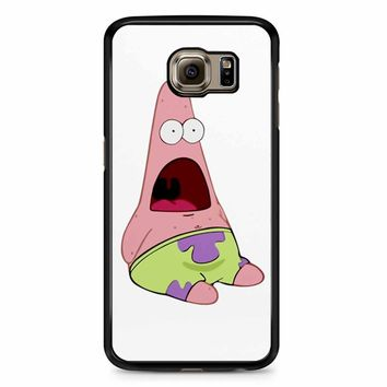 Patrick Star Shocked Samsung Galaxy S6 Case