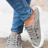 Blowfish Fruit Sneaker- Wolf Grey
