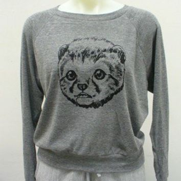 Cheetah Cub Raglan Sweater