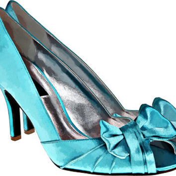 blue bow high heel shoe clip art png digital image download womens fashion art graphics printable wall art