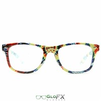 Diffraction Glasses: Tie Dye