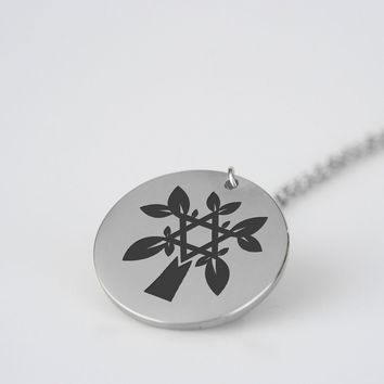 Power of Tree Life - Stainless Steel Necklace