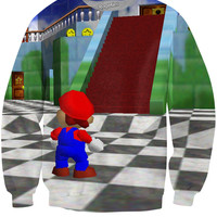 Super Mario 64 Castle Crewneck Sweatshirt