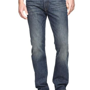 Gap Men 1969 Straight Fit Jeans Vintage Wash