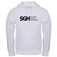 SGH Hooded Sweatshirt> Seattle Grace Hospital> Grey's Anatomy TV Store