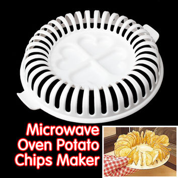 DIY Potato Chips Maker Baking & Pastry Tools Chips Rack kitchen tools