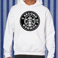 5 second of summer parody starbucks coffee Hoodie unisex adults Size S to 2XL