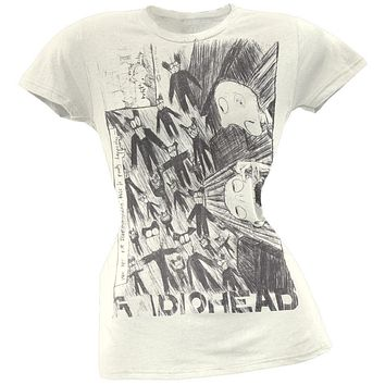 Radiohead - Scribble Juniors T-Shirt