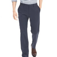 Banana Republic Mens Modern Slim Navy Wool Dress Pant