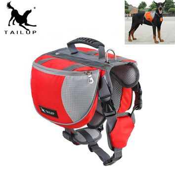 Anself Dog Backpack Pet Pack Medium and enormous Big Dogs Bag for Outside Hiking Camping Training