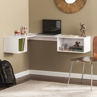 Chaves Wall Mount Corner Desk