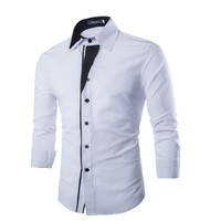 Men's Formal Long Sleeve Button Up Shirt