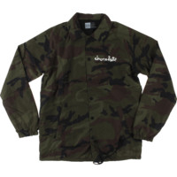 CHOCOLATE CHUNK COACH JACKET CAMO