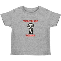 Youth Of Today Boys' Fist Childrens T-shirt Blue