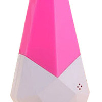 Hot Pink Diamond Pattern Novelty Night Led Light