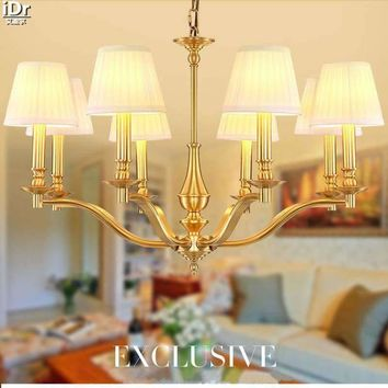 American country-wide copper minimalist living room lights retro rustic dining room den bedroom Ceiling Lights OLU-0105