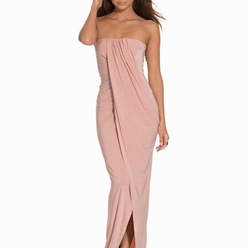 Bandeau Slinky Dress, Club L Essentials