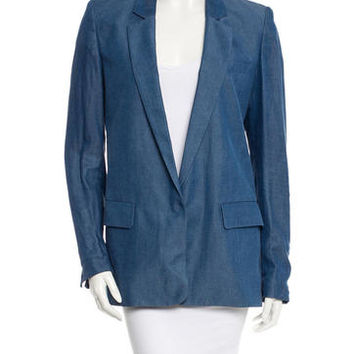 Acne Chambray Blazer