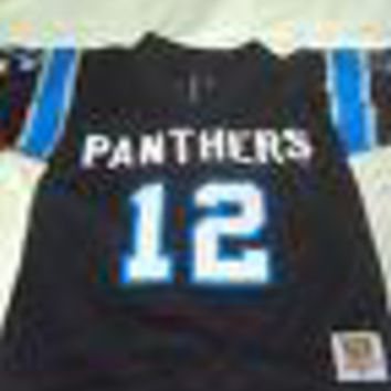 KERRY COLLINS  #12 TODDLER RETRO NFL PANTHERS WILSON JERSEY SHIPPING