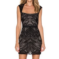 SAYLOR Kinley Dress in Black