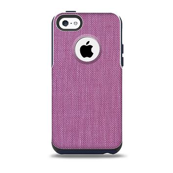 Purple Fabric Texture Skin for the iPhone 5c OtterBox Commuter Case