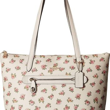 COACH Womens Flower Patchwork Pvc Taylor Tote