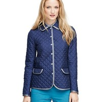 Long-Sleeve Quilted Jacket - Brooks Brothers
