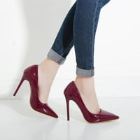 Hot OL Office Lady Classics Women Sexy Stiletto High Heels Pumps Shoes Pointed Toe Shoes Red Black Wedding Party Court Shoes 41