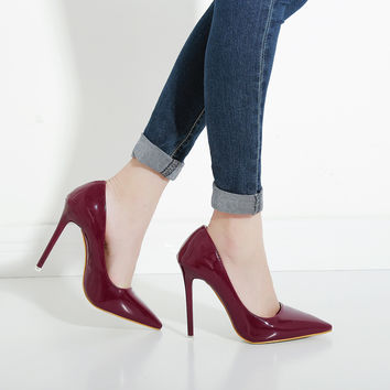 Sexy Office Lady Pointed toe Pumps